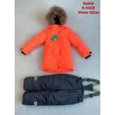 2021 RASKID Зима мембранный костюм д/д ОРАНЖЕВЫЙ 104-122 упаковка 4 шт ЦЕНА ЗА ШТ 2500