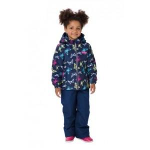 Комплект утепленный: куртка и брюки S18144 DARK BLUE